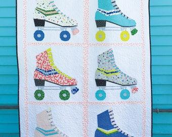 Hot Skates Quilt PDF Paper Piecing Pattern #19