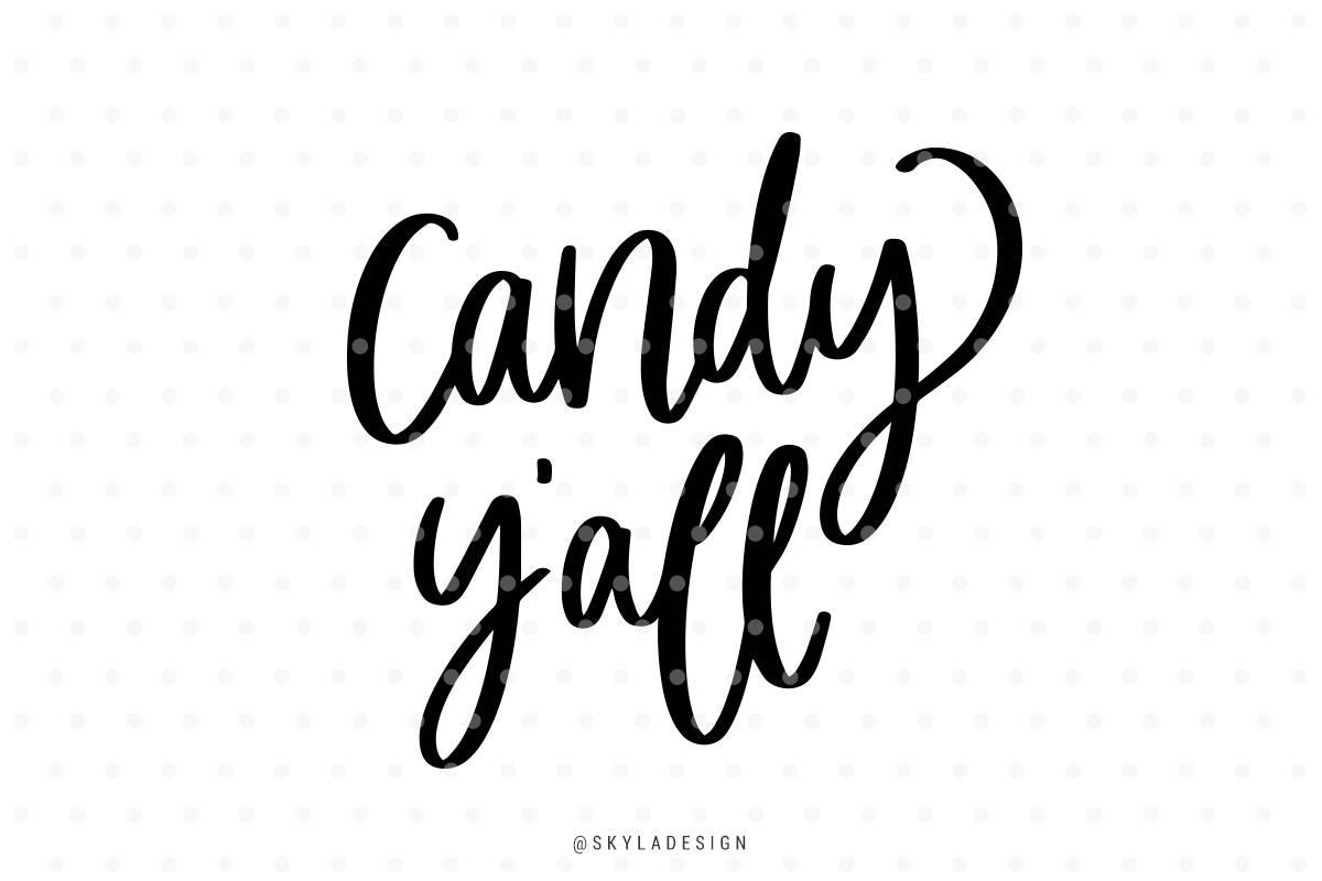 Candy y \' all Svg süsses oder Saures Svg Halloween