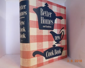 Vintage Better Homes and Garden Cookbook