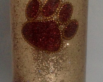 Beautiful Glitter Tumbler for Pet Lovers