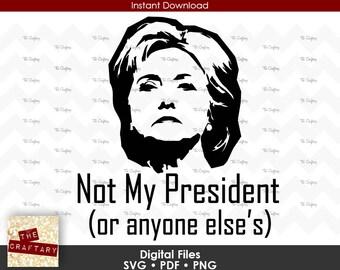 Hillary Clinton President SVG File