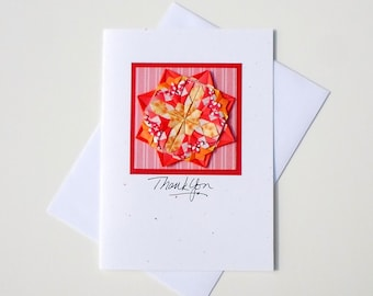 Thank You Greetings,Thank U Greetings,Greeting Cards for Thank You,Thank You Note for Gift,3D Origami,Origami Rose,Beautiful Handmade Cards