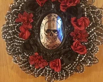 Halloween Wreath: Look of Death