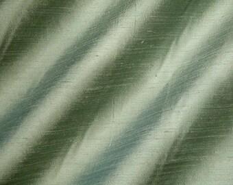 ACACIA - 2036-1D - Pure Silk Dupioni Fabric - Handwoven  By The Yard