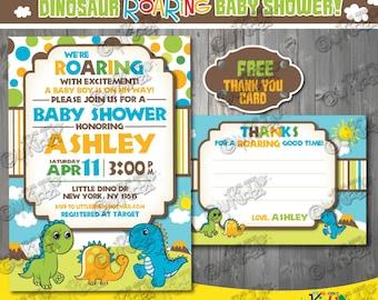 Dinosaur baby shower Etsy