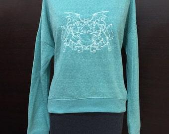 SALE! Teen Wolf inspired Werwolf Crest Sweatshirt