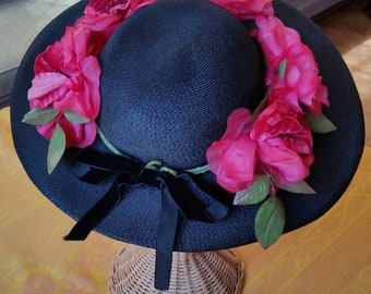 Evelyn Varon Straw Hat