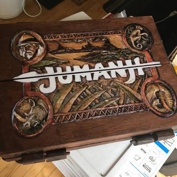 Jumanji Inspired Wooden Board Game 1:1 scale