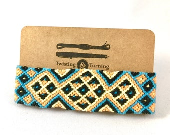 "Tribal Friendship Bracelet ""Serotinal Season"""
