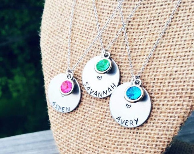 Necklace for Kids- Custom Name