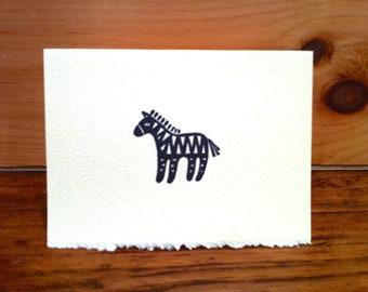 Zebra Notecards