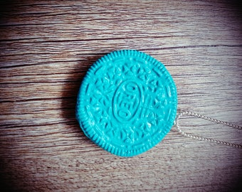 "Necklace Model ""blue Oreo"""