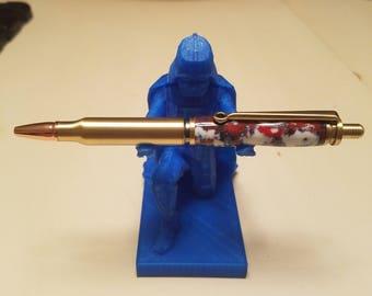 Custom 30 caliber bullet pen