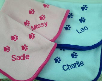 Personalised  Pet Blanket   Small  50 x 70 cm