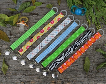 Pacifier clip handmade / baby accessories / pacifier holder / baby supply