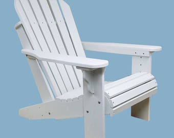 Forever Poly Composite Adirondack Chairs Made from Recyled plastic. 3 colors to choose from!