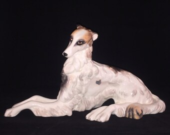Vintage Wedgwood Borzoi Russian Wolfhound MINT Condition