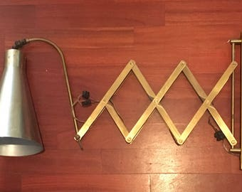 lamp pantograph years 60
