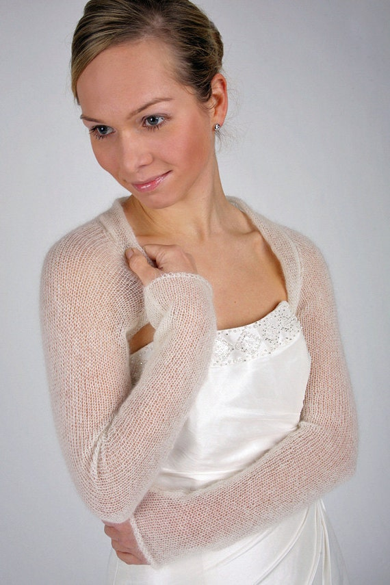 Knitting Pattern Wedding Shrug for your wedding dress knit