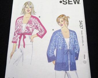 Kwik Sew Misses' Tops Pattern 3437 Size XS - S - M - L - XL