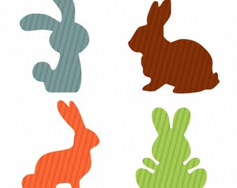 Bunny Svg,Easter Svg, Easter Basket Svg, Bunny Svg, Silhouette Cut Files, Cricut Cut Files, Svg Files.
