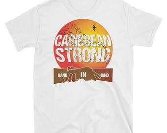 Caribbean Strong - T Shirt Hand in Hand
