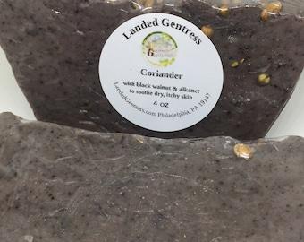 Coriander soap