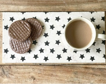 SCANDI STYLE natural stone mini platters & Handmade Natural Stone Tableware from the by ENCOREHOMEgift