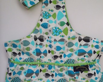 Pixie Winks - Fish Pond Tote Bag - Size Large