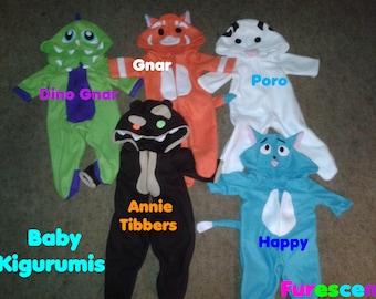 Custom Baby Character Onesies