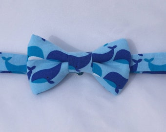whale bow tie