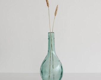 Vintage Glass Bottle Vase
