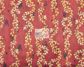 """Poultry In Motion 100% Cotton Fabric - 45"""" Width Sold By The Yard (FH-1238)"""