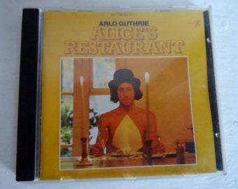 Vintage Arlo Guthrie CD - Alice's restaurant - made in Germany - vintage music lp cd dad present