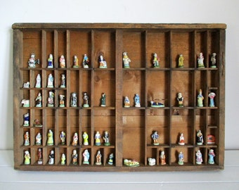 Wooden Display Case, Wooden Letterpress Drawer, Printers Tray, Letterpress Drawer, Printers Tray, Wooden Tray For Letterpress