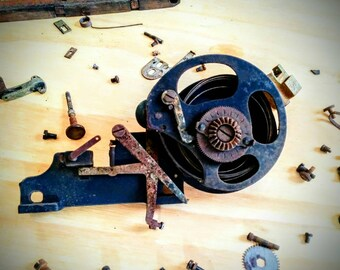 Steampunk Art / Typewriter Parts from 1906 Remington No.7