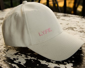 Love Yourself For Eternity [LYFE] cap in White