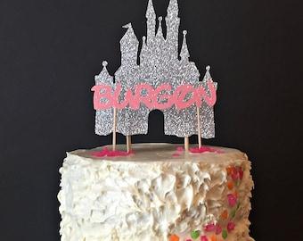 Castle cake topper Etsy