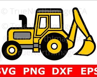 Excavator SVG / Excavator Clipart / Excavator Clip art / Construction SVG / Construction Clipart / svg Files for Cricut / Silhouette Files