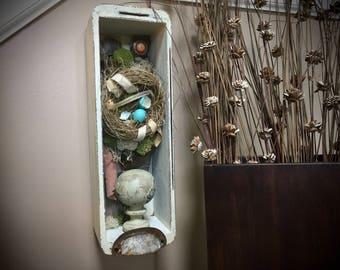 William Blake Bird Nest Assemblage — Friendship Bird Nest Assemblage