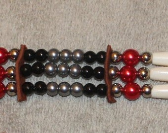 Cranberry Red Choker ch11