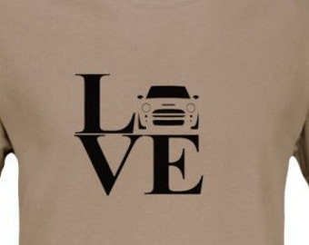 LOVE with MINI t-shirt