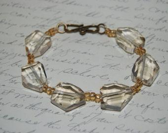 Champagne Crystal  Bracelet.