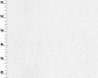 Designer White Ribbed Home Decorating Fabric, Fabric By The Yard