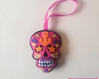 Pink and black Calaverita