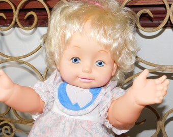 Doll by Catalina Toys 18 in 1990 ,Vintage Dolls, Toys, Dolls, Catalina Toys ,Vintage Toys, Toys, :)s*