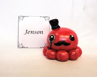 Clay Octopus- Jenson the Polymer Clay Octo Buddy