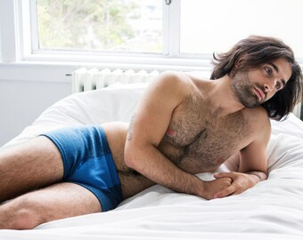 mens underwear shorts upcycled merino wool crafted from fine knit sweaters this is upcycling this is slow fashion this is the future