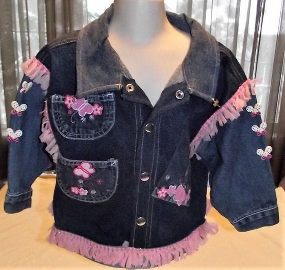 Refurbished Girls Denim Jacket, Size 3T