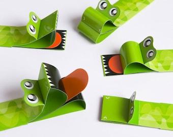 Bookbeasts bookmark Crocodile 5 pack